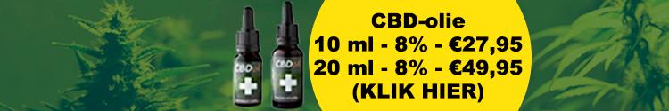 Banner THC olie en THC liquid