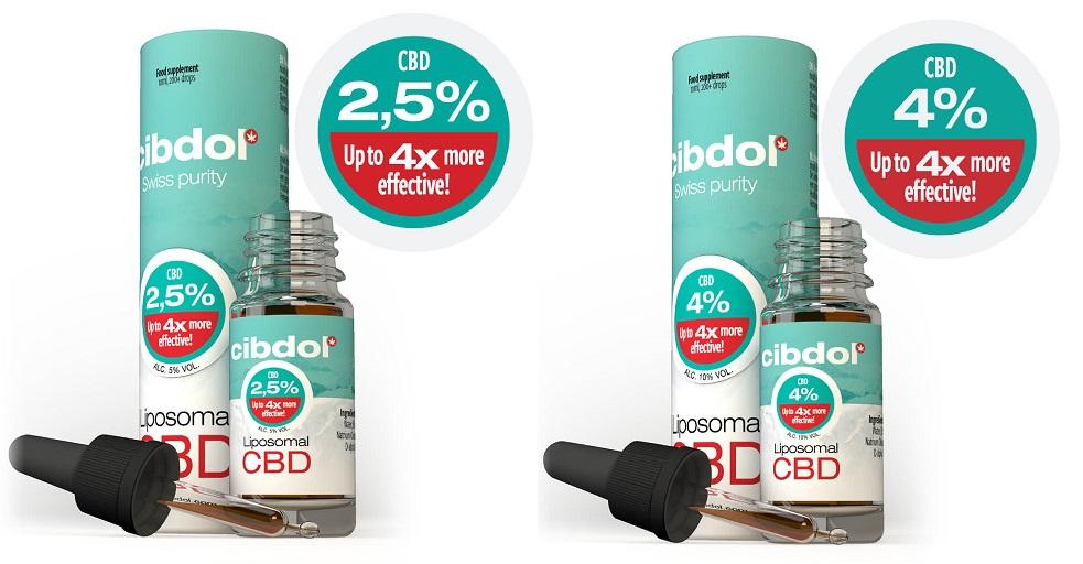 Liposomale CBD-olie