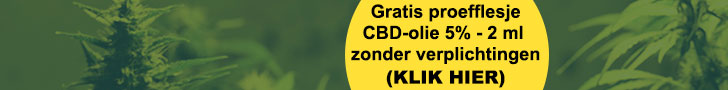 CBD olie banner